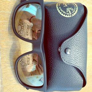 Rayban black sunglasses unisex
